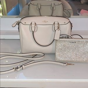 Coach Purse/Satchel, with matching Wallet/Wristlet